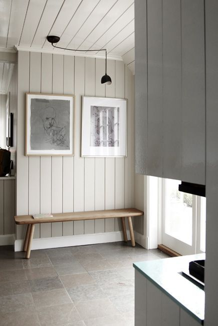 Proulxsie Stream White Wood Paneling Kitchens And Bedrooms Home