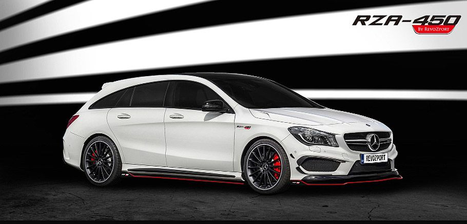 Revozport Mercedes Cla 45 Amg Shooting Brake With Images