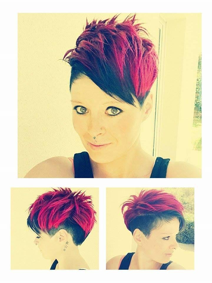 12 Bezaubernde Kurzhaarfrisuren Die Du Dir Wirklich Anschauen Solltest Kurz Geschnittene Frisuren Punk Haarschnitt Haar Styling