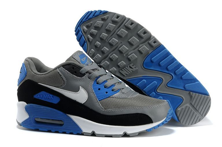 nike 86 nouvelle - Authentique Nike Air Max 90 Essential Anthracite Marine Bleu Homme ...
