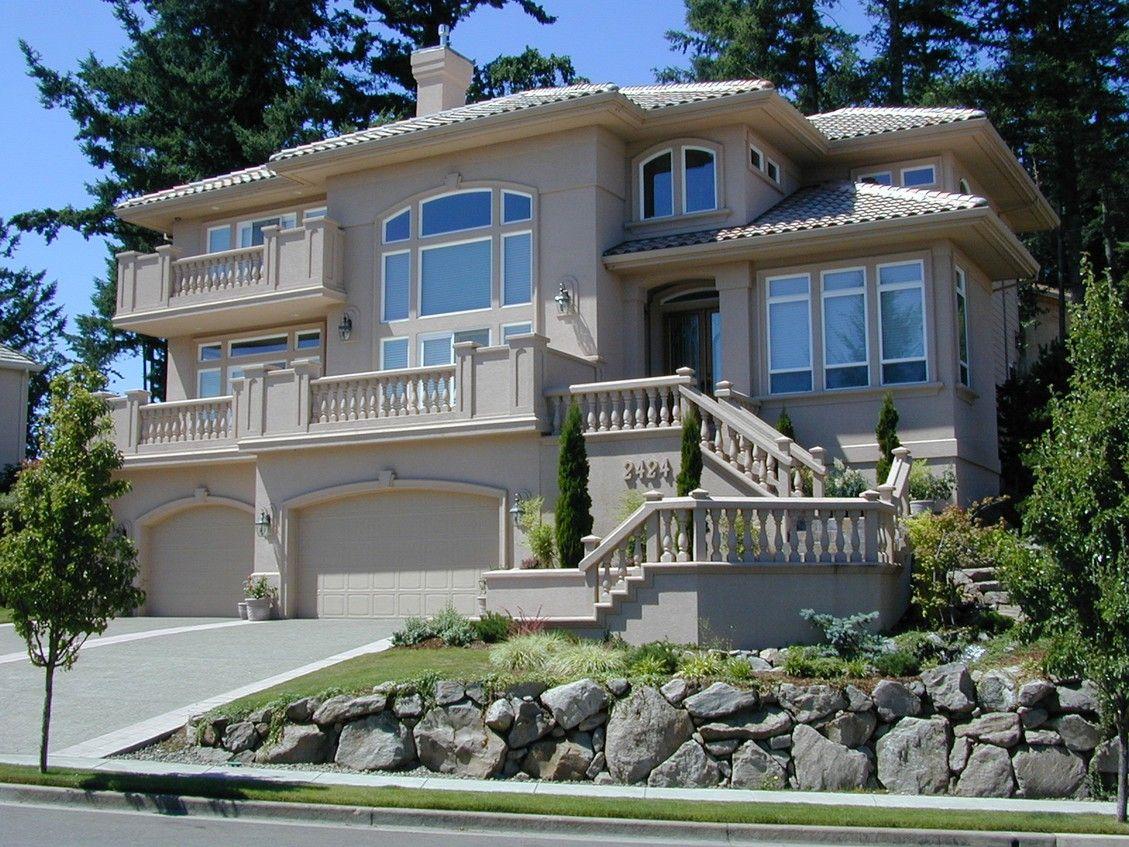 Plan 6913am Luxurious Contemporary Mediterranean House Plans Contemporary House Plans Luxury House Plans