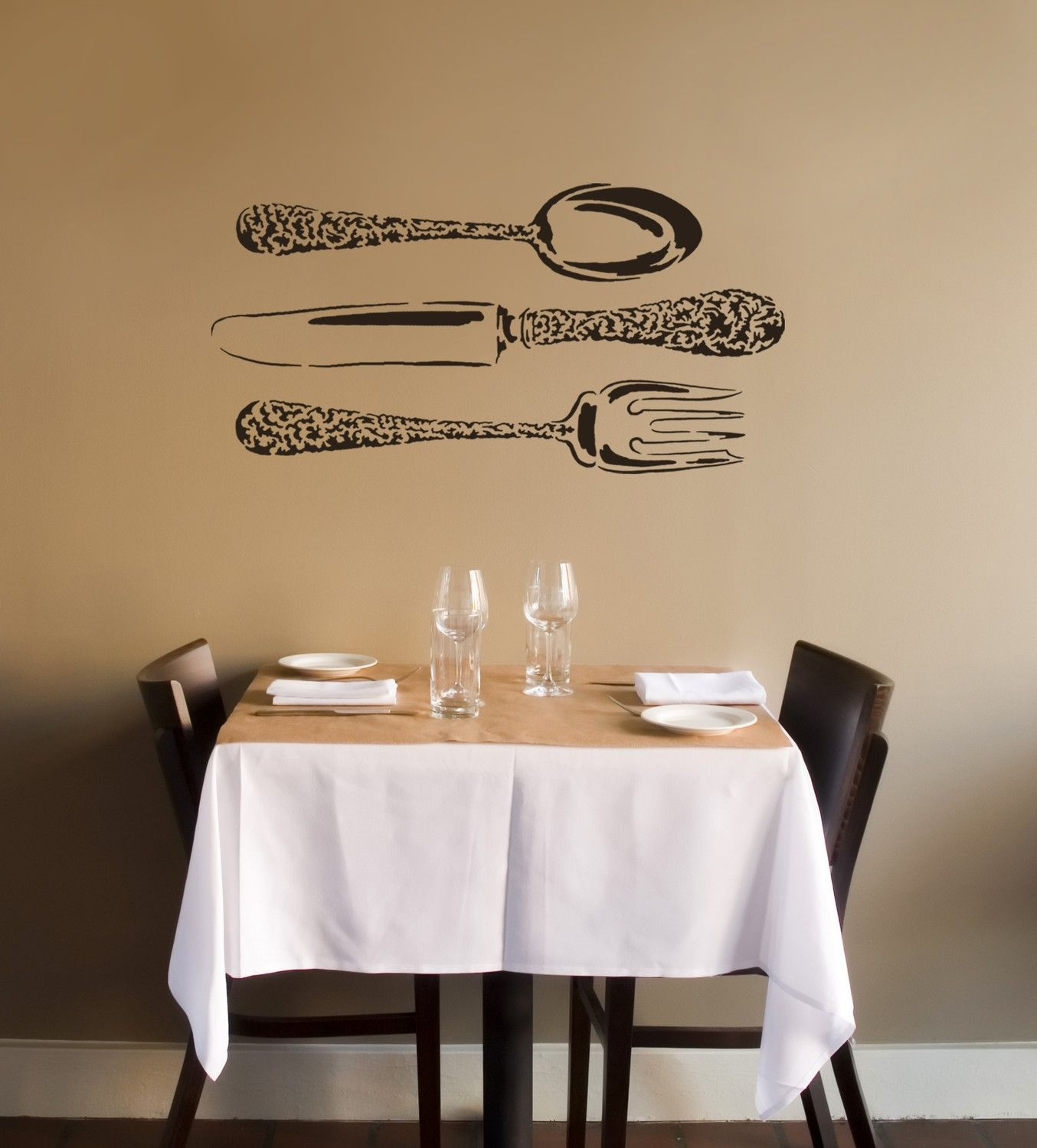 Wall stencil kitchen pinterest wall stenciling walls and stencils reusable wall stencils instead of wall decals large stencils for diy decor amipublicfo Choice Image
