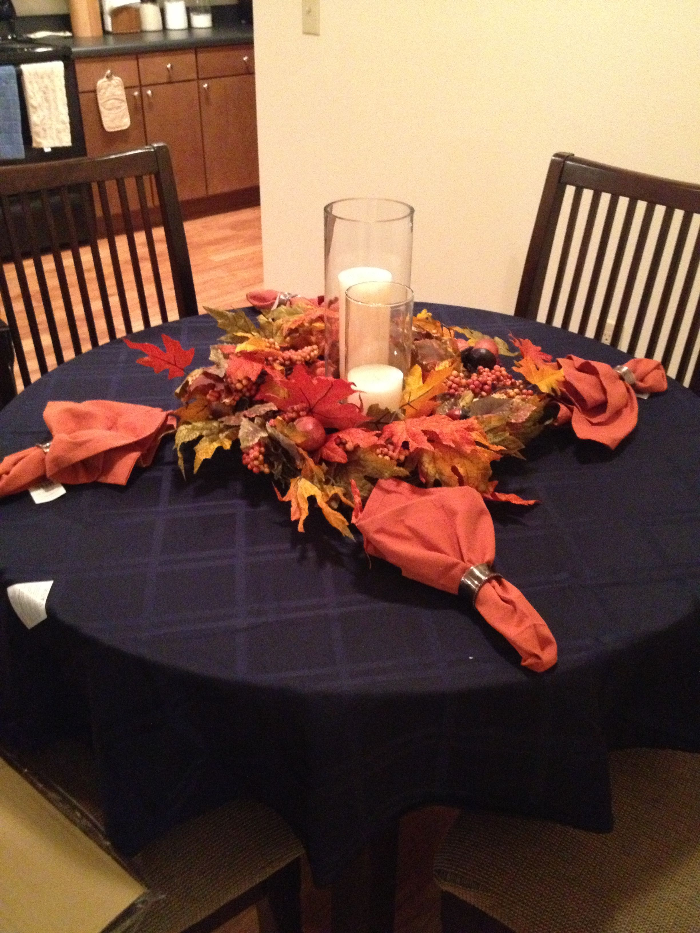 Thanksgiving Table Set Up Bed Bath Beyond Thanksgiving Table Decorations Thanksgiving Table Settings Table Decorations