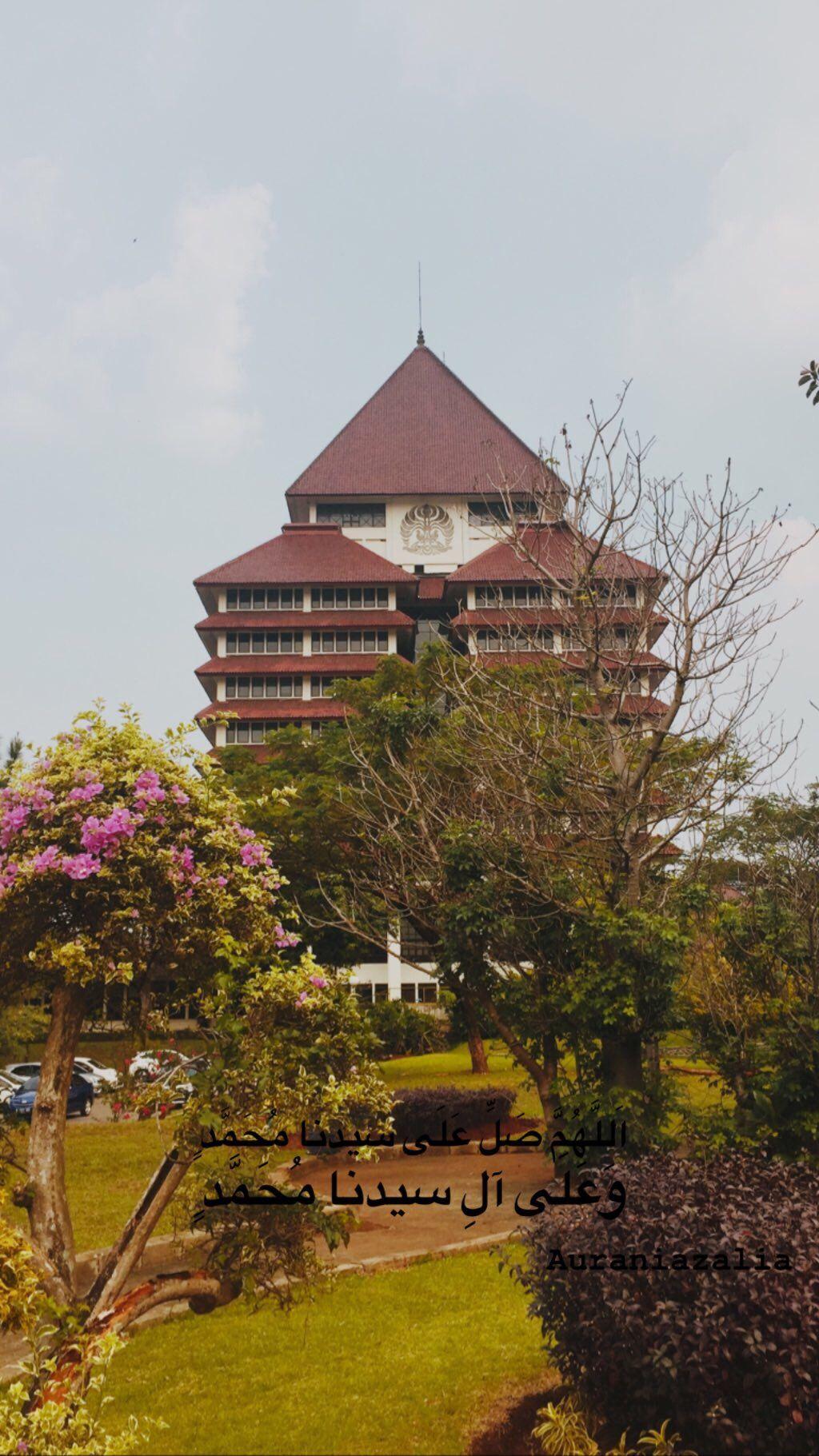 Balairung Universitas Indonesia Depok Motivasi Universitas Kampus Universitas