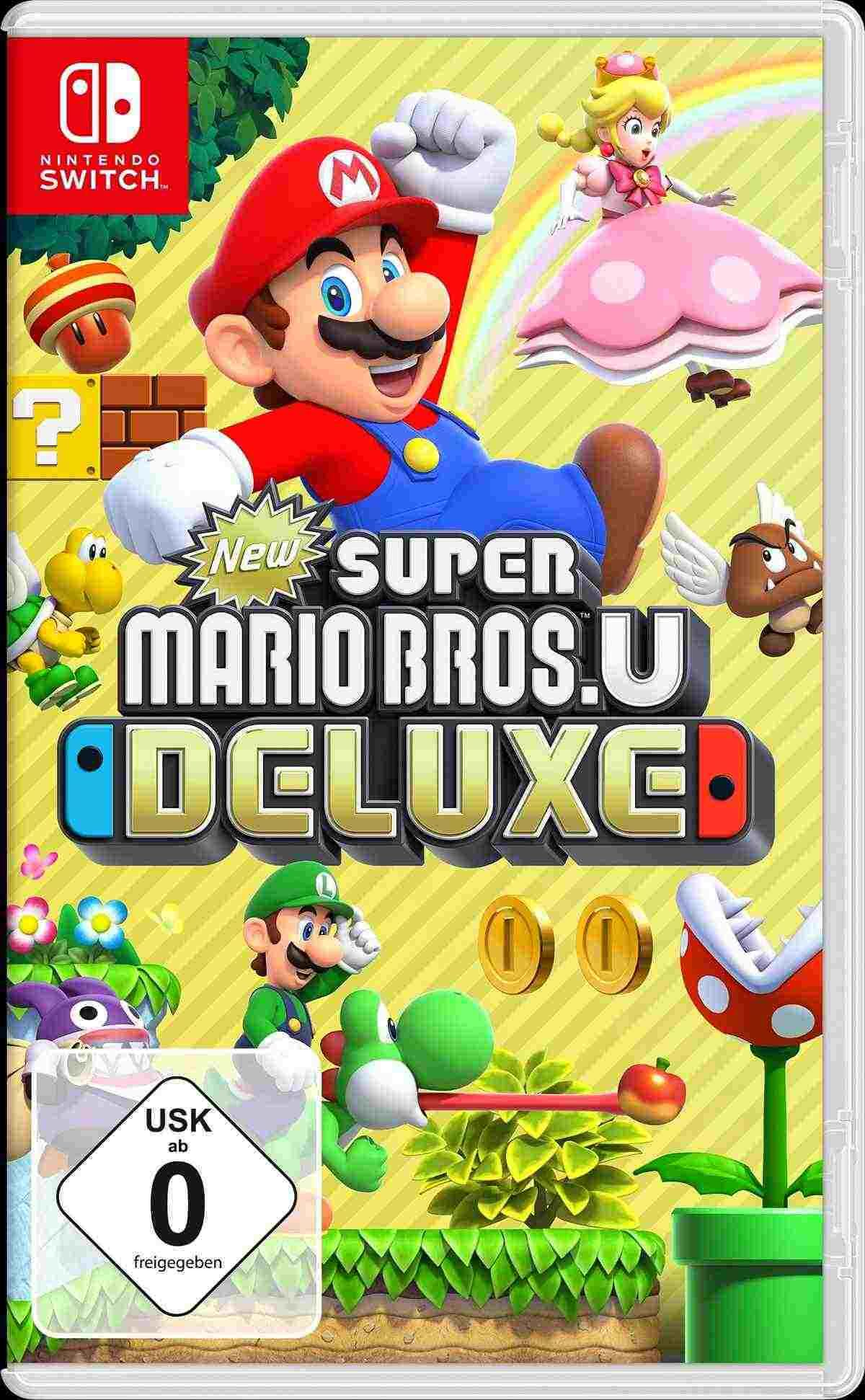 New Supermario Bros U Deluxe Nintendo Switch Key Kaufen Kein Problem Uber Unseren Preisvergleich Super Mario Party Super Smash Bros Mario Party