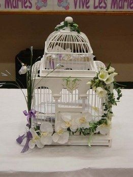 la recherche d une cage oiseau conseils sur le blog de mariage. Black Bedroom Furniture Sets. Home Design Ideas