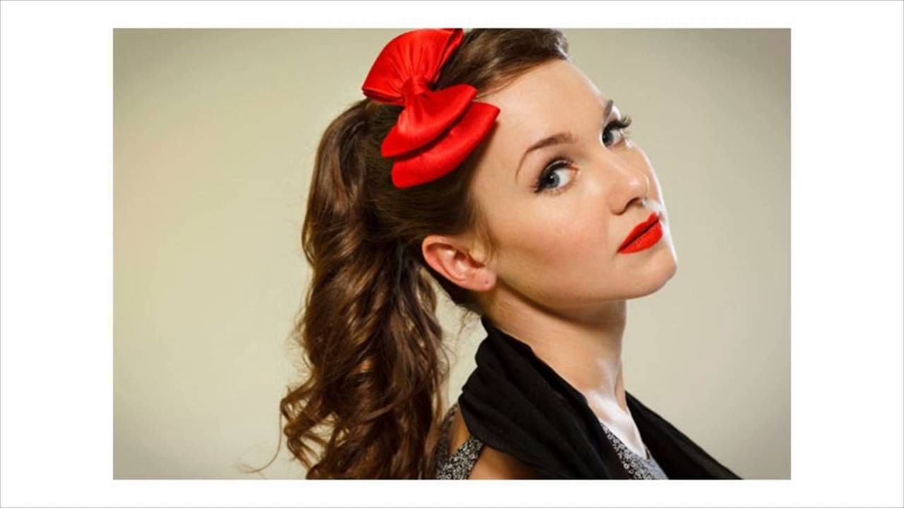 Peggy Hair The 1950's Inspired Ponytail   1950s ...