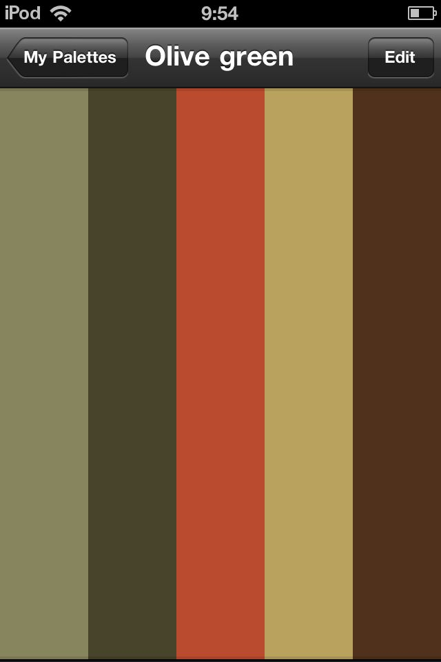 Olive Green Color Palette By A User Mandarina81 At Www Colour