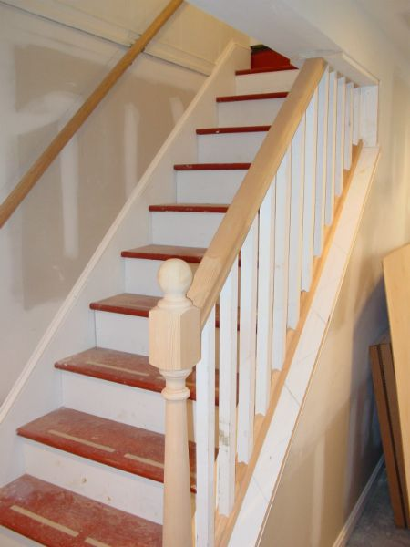 Basement Stairs Design: Cook Bros. #1 Design Build