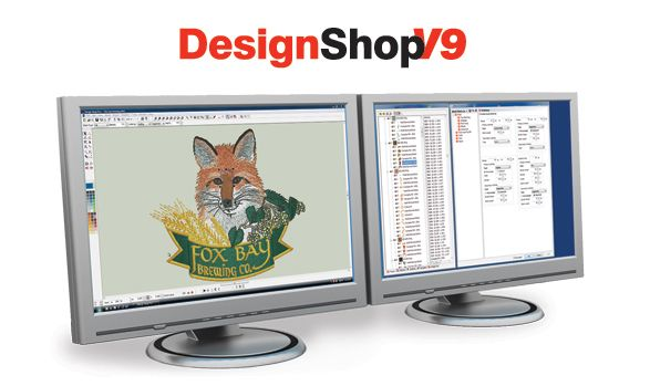 Designshop V9 The Most Productive Embroidery Design Software Ever Made Embroidery Digitizing Software Commercial Embroidery Machine Commercial Embroidery
