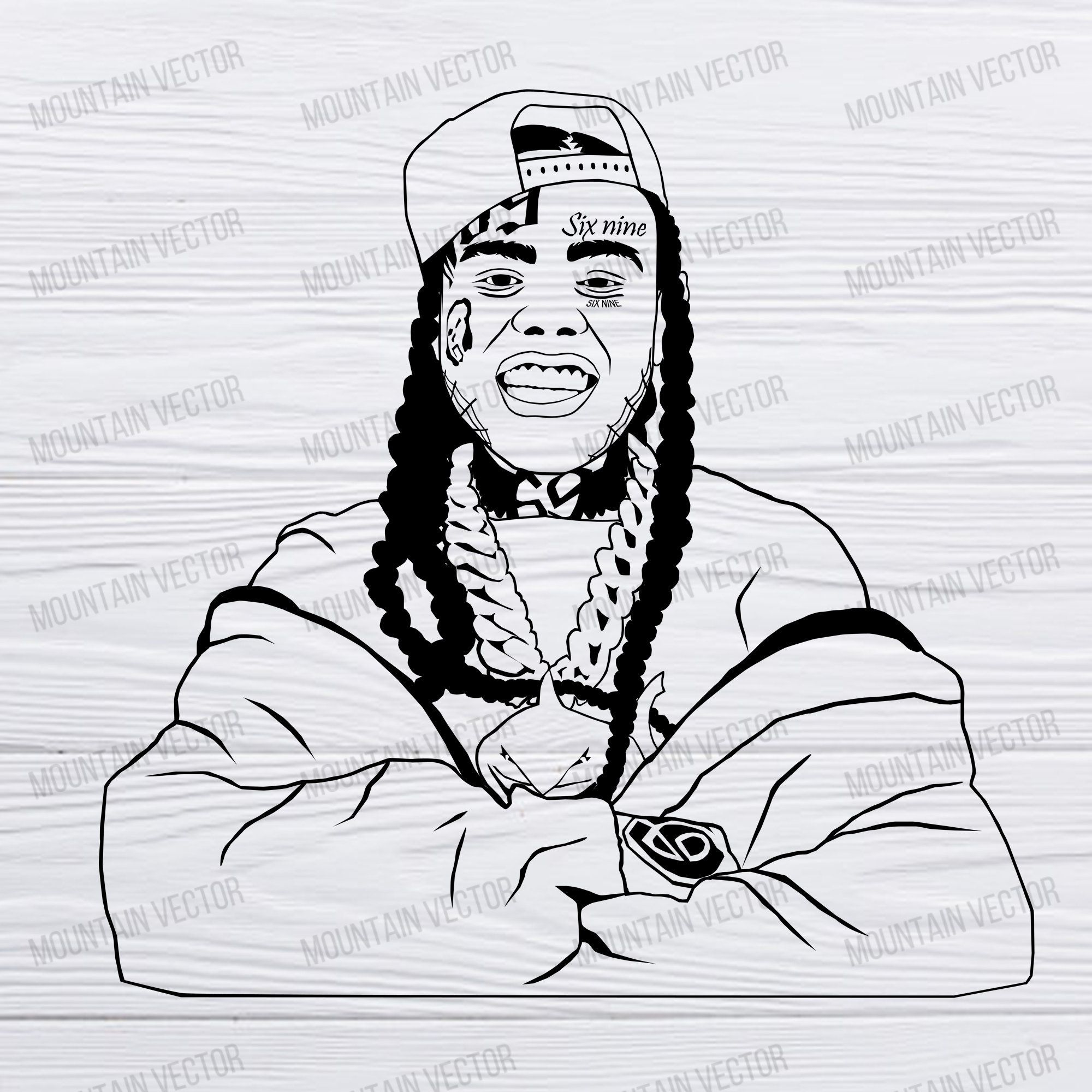 Pin By Angie Rubio On 6ix9ine Temporary Face Tattoos Face Tattoo Face