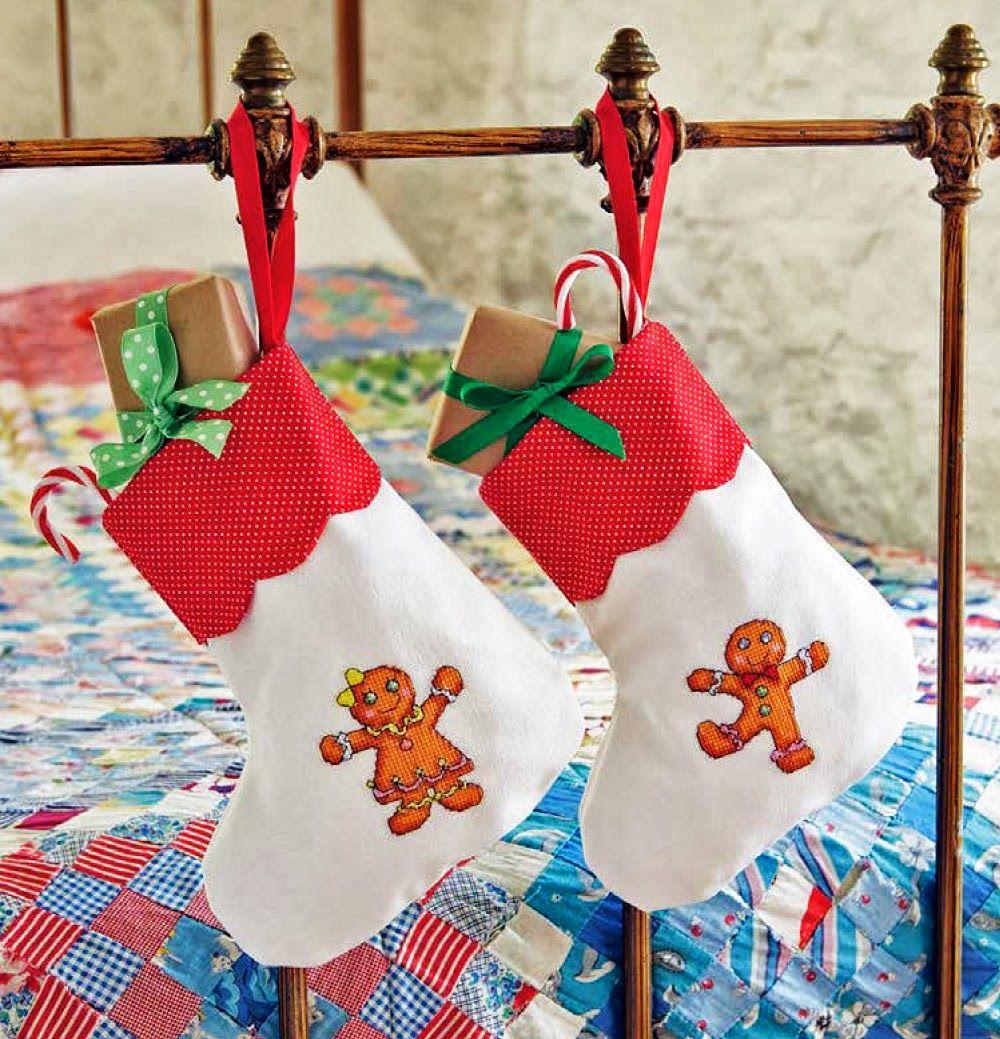 Homem e Mulher Biscoito: Ideias festivas de Natal