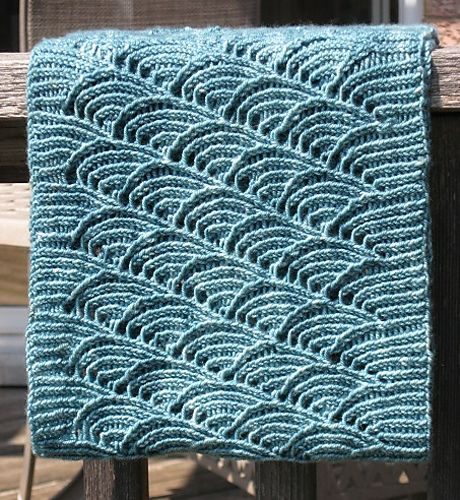 Ravelry: Blue Water Cowl