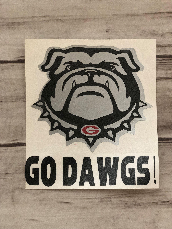 Uga Decal Georgia Decal Georgia Bulldog Decal Georgia Etsy Georgia Bulldogs Bulldog Georgia [ 3000 x 2250 Pixel ]