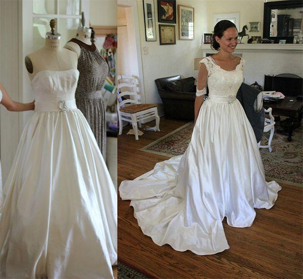 55 Intelligent Fun Ways To Refashion Prom Wedding Formal Dresses Paris Ciel En Diy Wedding Dress Formal Dresses For Weddings Diy Dress