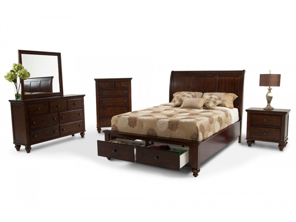 chatham 8 piece queen bedroom set