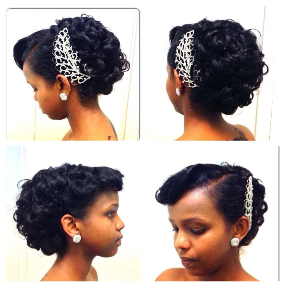 African Canadian Wedding Hair Inspiration: 20 Gorgeous Bridal ...