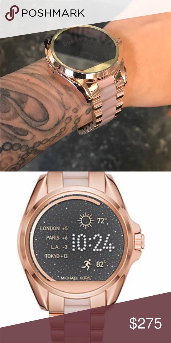 ac15cd92252 Michael Kors smart watch Rose gold smart watch KORS Michael Kors  Accessories Watches