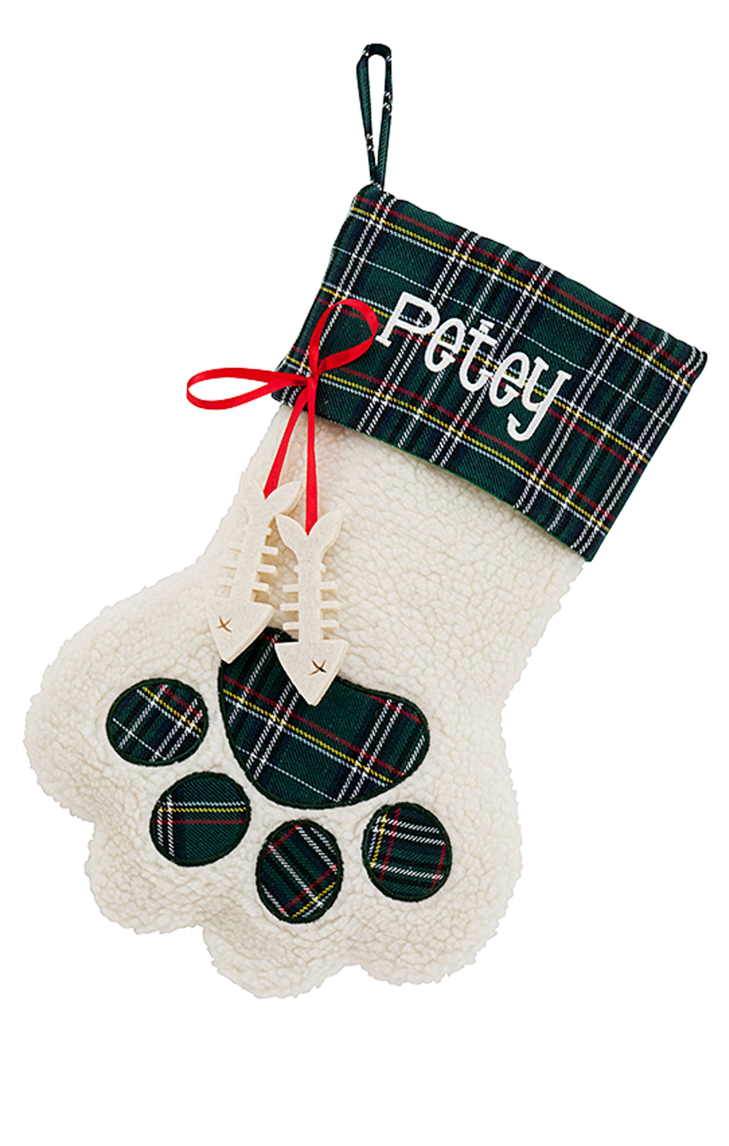 Get a head start on holiday prep by ordering a customized stocking