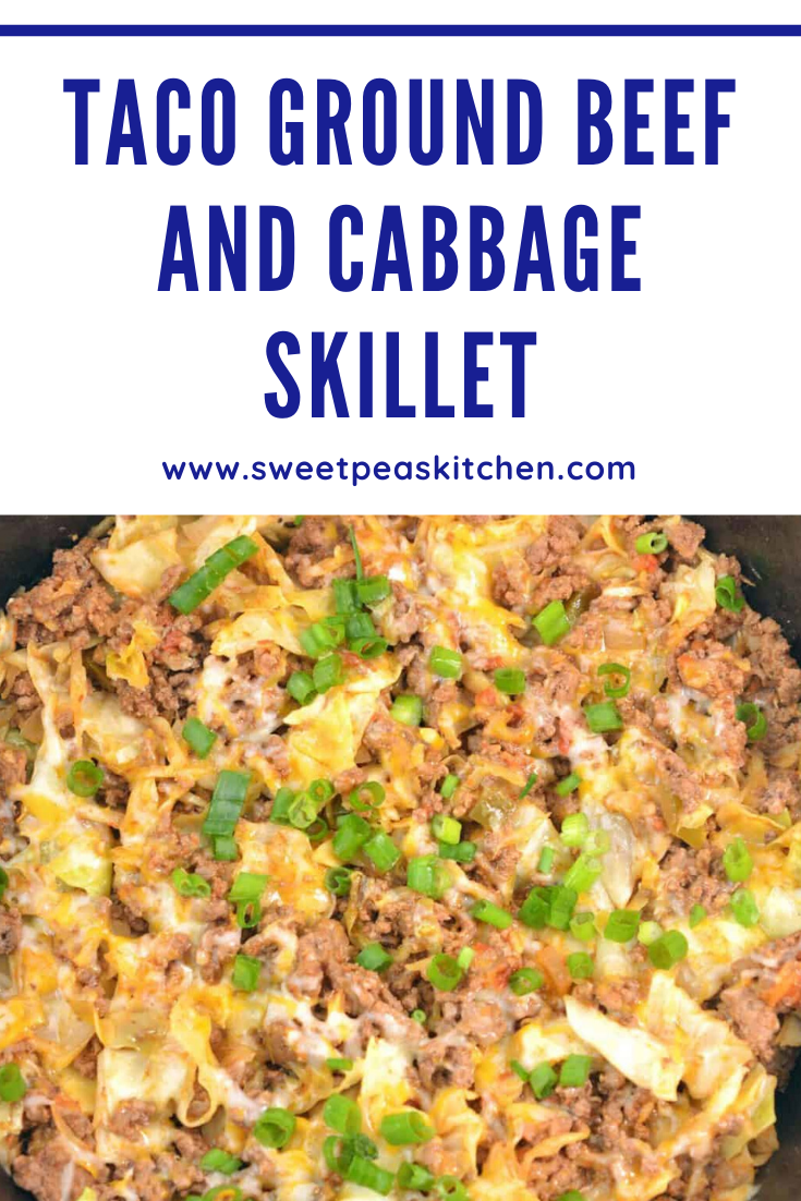 Taco Ground Beef And Cabbage Skillet Meal Recipe In 2020 Ground Beef And Cabbage Taco Recipes Ground Beef Beef Recipes Light