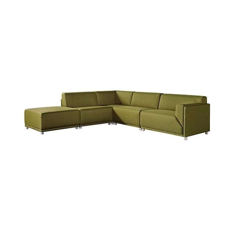 Simple Moderna Modular Sectional Left Facing Top Search - Elegant square sectional sofa Model