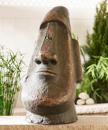 Another Great Find On #zulily! Easter Island Garden Statue #zulilyfinds