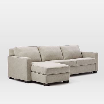 Henry 2 Piece Full Sleeper Sectional W Storage Sectional Sleeper Sofa Sleeper Sectional Storage Chaise
