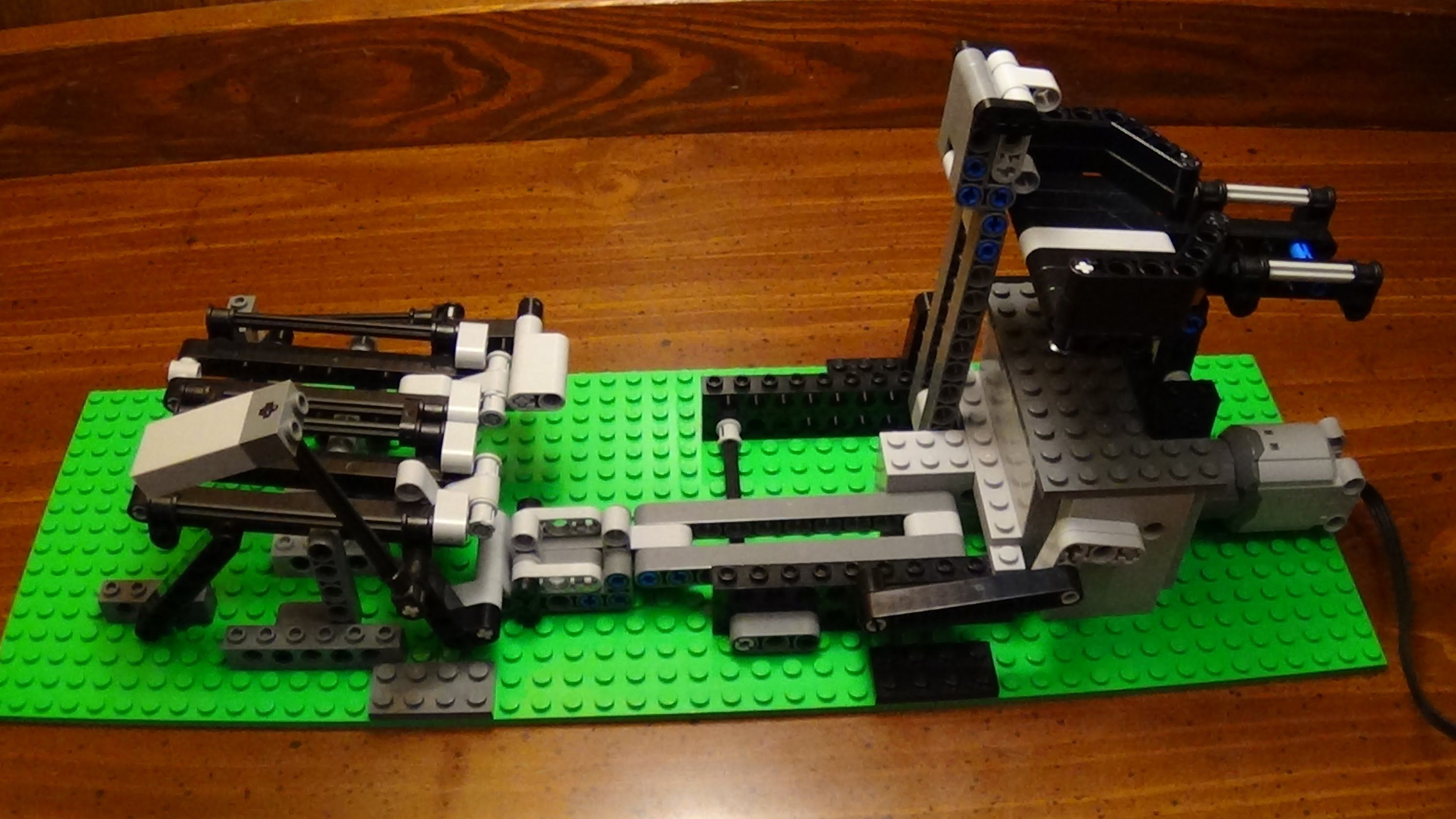 Lego Gbc Module Dual Lifting Arms Building Instructions Great