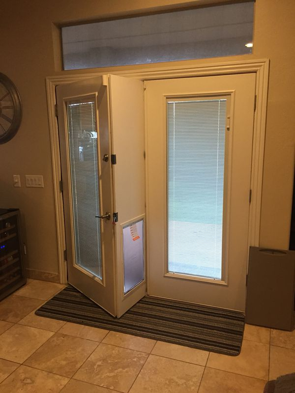 Pet Door For French Doors For Sale In Tempe Az Offerup