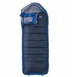 Slumberjack Esplanade Oversized 20 Degree Hooded Sleeping Bag Regular Campmor