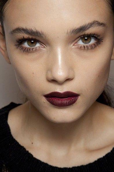Glowy skin and velvet lip