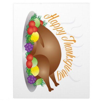 thanksgiving day baked turkey dinner illustration plaque thanksgiving day family happy thanksgiving holiday