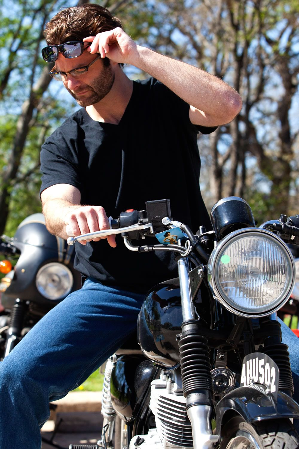 335fbacdd1 Quamby Eternal Black fitover sunglasses by Jonathan Paul Fitovers are  perfect for working on or riding your motorcycle