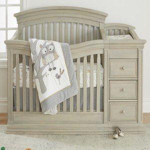 Sorelle Sedona Crib and Changer Rustic Taupe