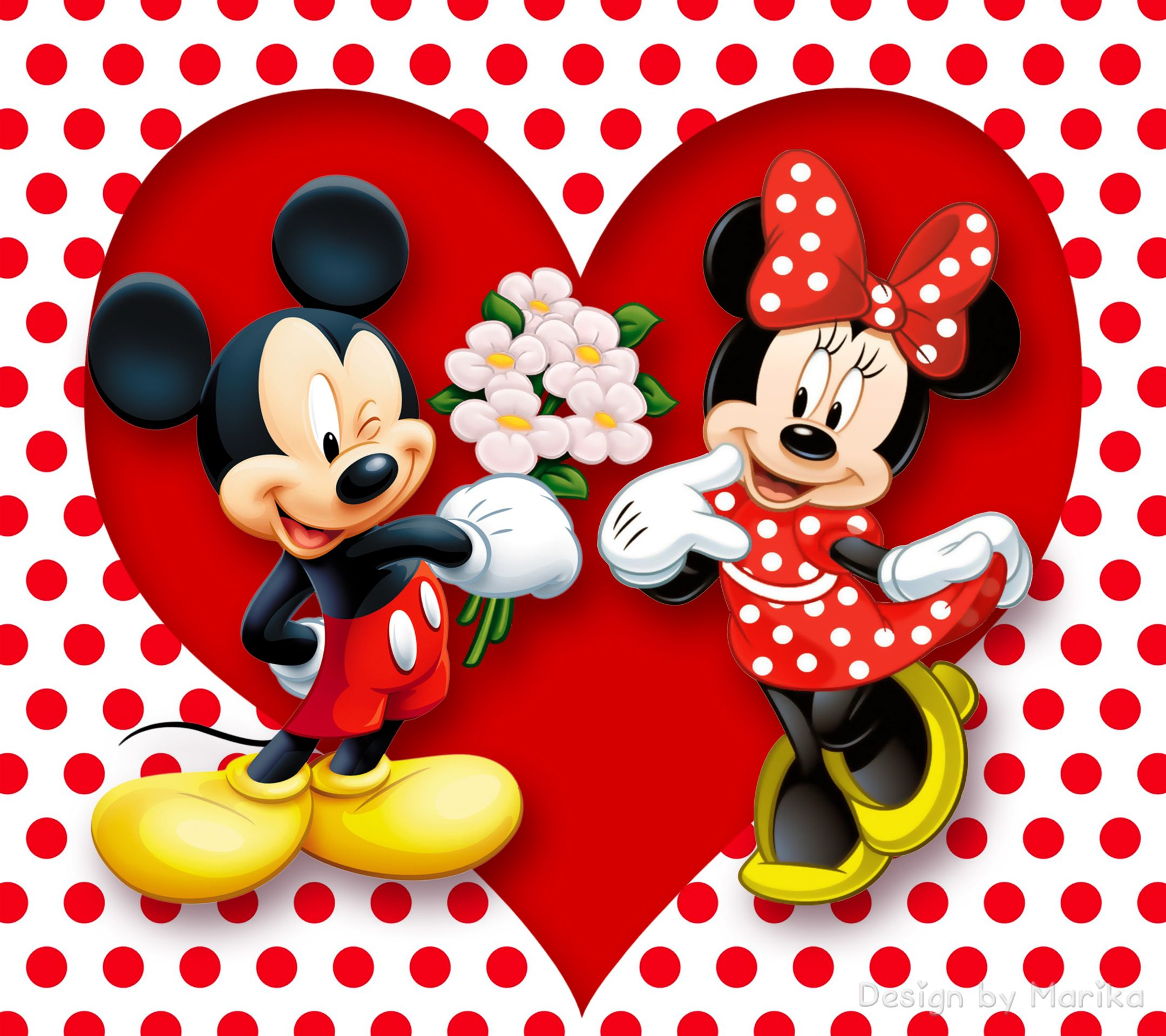 Mickey Minnie Desktop Background HD wallpapers | Your my Mickey and ...