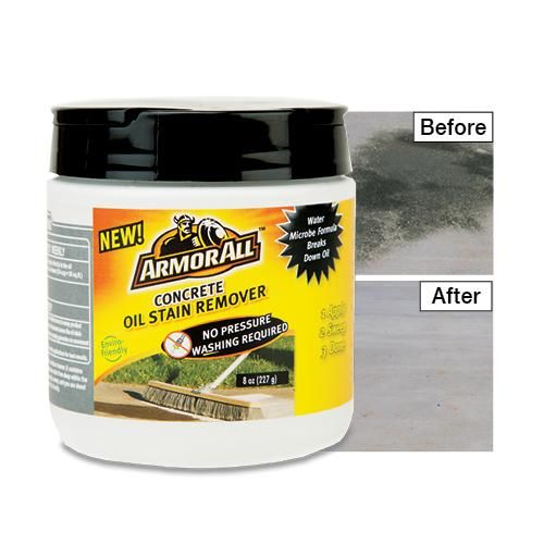 Concrete Stain Remover >> Armor All Concrete Stain Remover Get Organized Stained