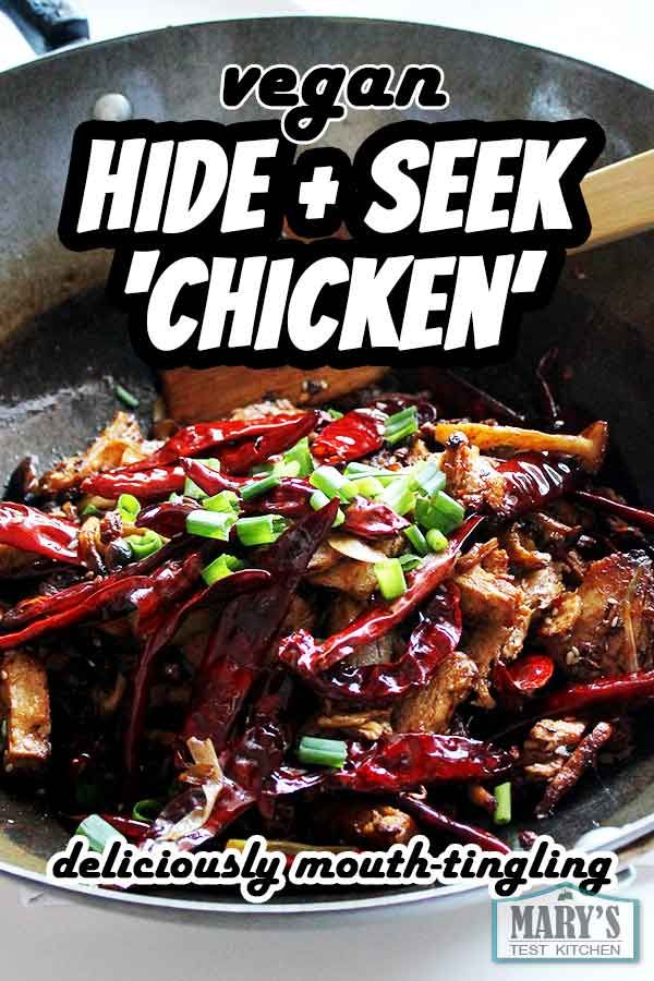 Vegan Hide And Seek Chicken La Zi Ji Autoimmune Support