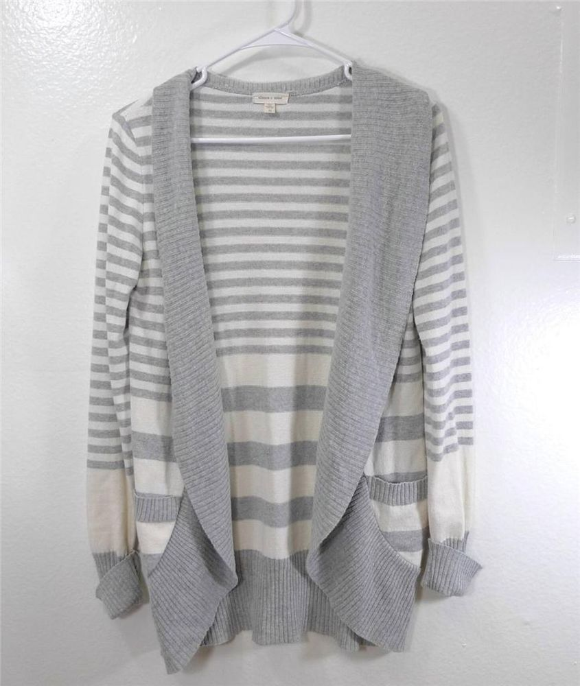 WOMEN SILENCE + NOISE URBAN OUTFITTERS striped cardigan M #SILENCENOISE #Cardigan