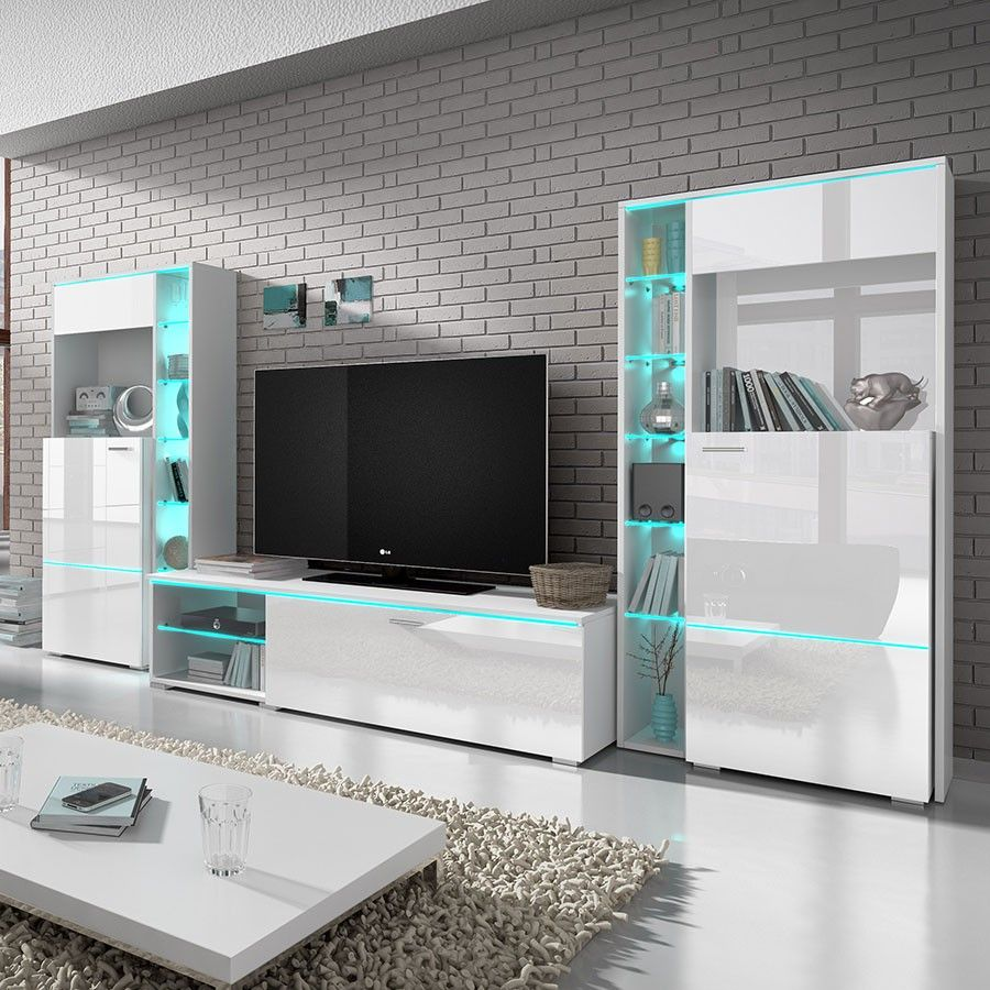 Best Buffet Tv Design Contemporary Joshkrajcik Us Joshkrajcik Us # Meuble Tv Avec Led