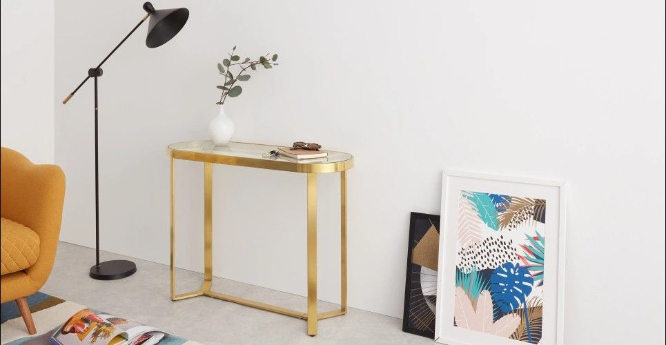 Brass Console Tables