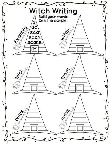 spooktacular spelling halloween spelling worksheets teaching reading ideas spelling. Black Bedroom Furniture Sets. Home Design Ideas