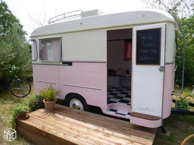 Caravane vintage waelgrave 1962 caravaning gard - Renover une caravane ...