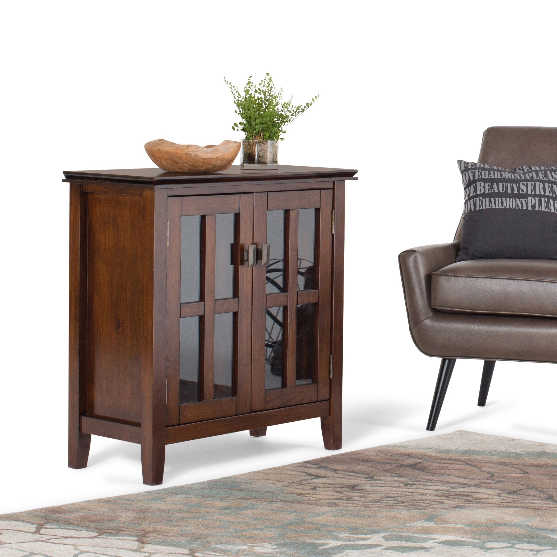 Fresh End Tables with Storage Cabinet