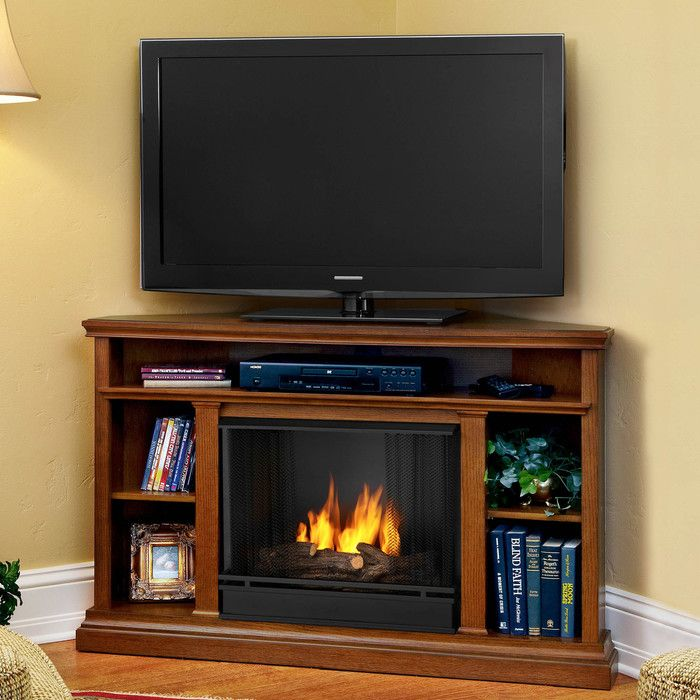 Real Flame Churchill TV Stand You ll Love Wayfair