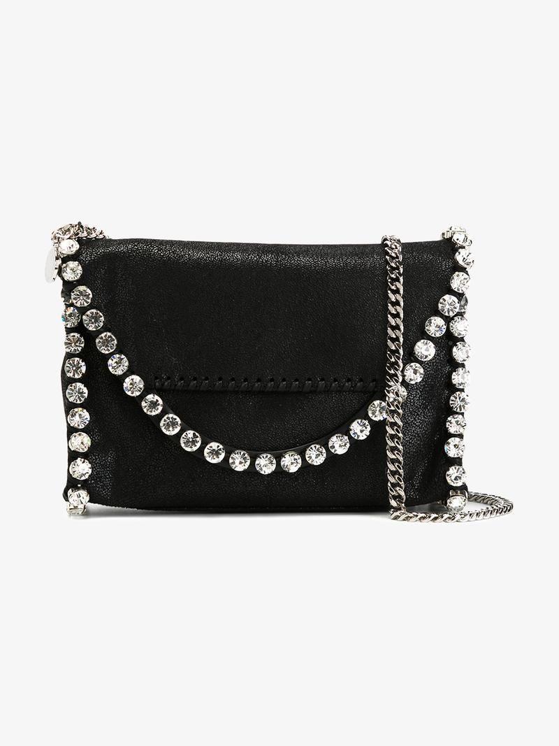 STELLA MCCARTNEY 'FALABELLA SHAGGY DEER' SHOULDER BAG. #stellamccartney #bags #shoulder bags #leather #