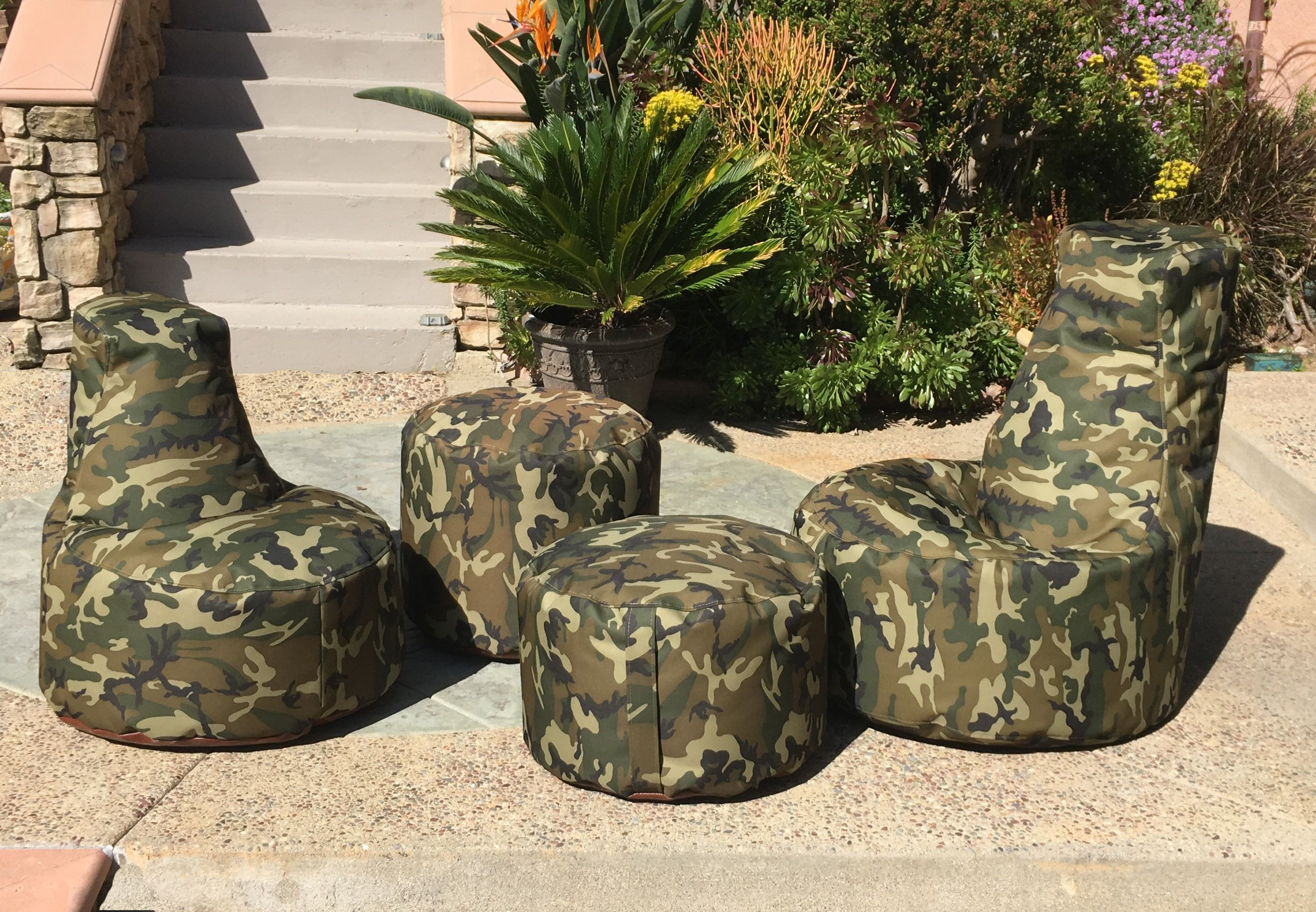 Wayfair Hot Shot Chairs Brings To You The Extremely Durable Indoor Outdoor Camo Bean Bag Set In Wat Bean Bag Chair Kids Outdoor Bean Bag Outdoor Bean Bag Chair