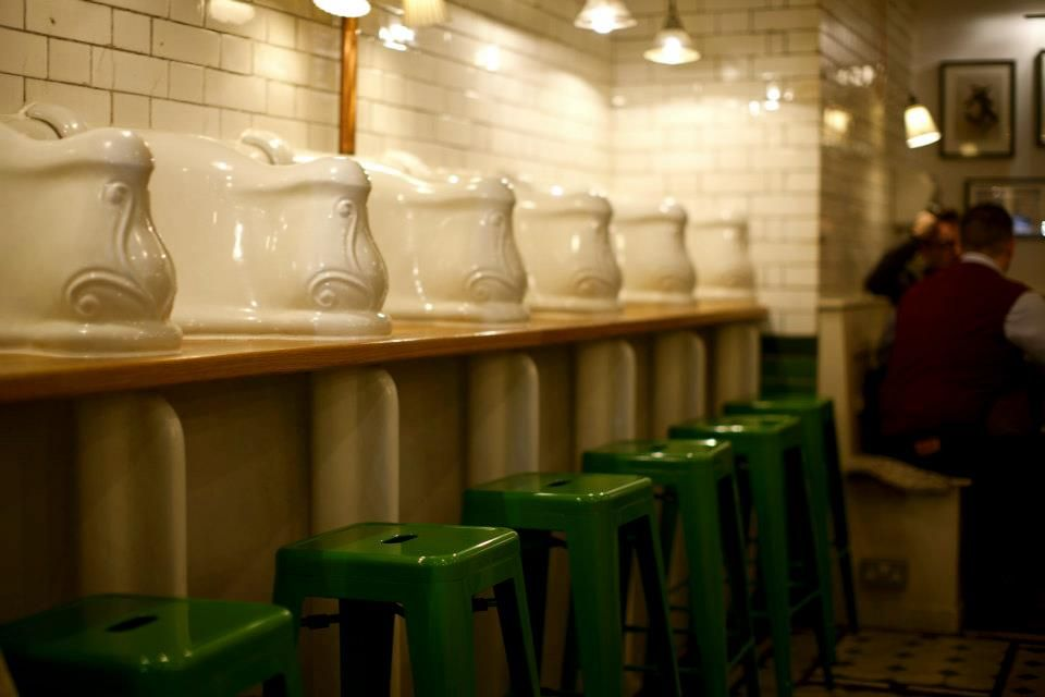 Abandoned antique public toilet in London turned into a coffee shop ...