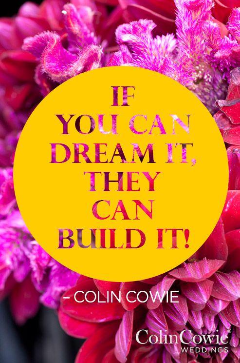 Words of Wisdom Expert Tips Colin Cowie Advice Wedding