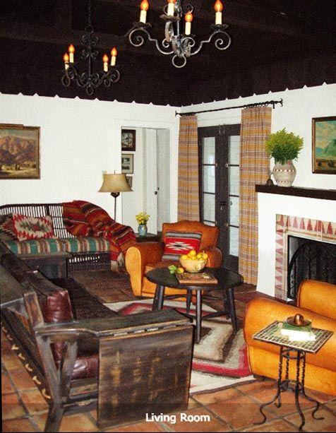 Vista Del Monte a 1940 s Hacienda Home with period furniture from