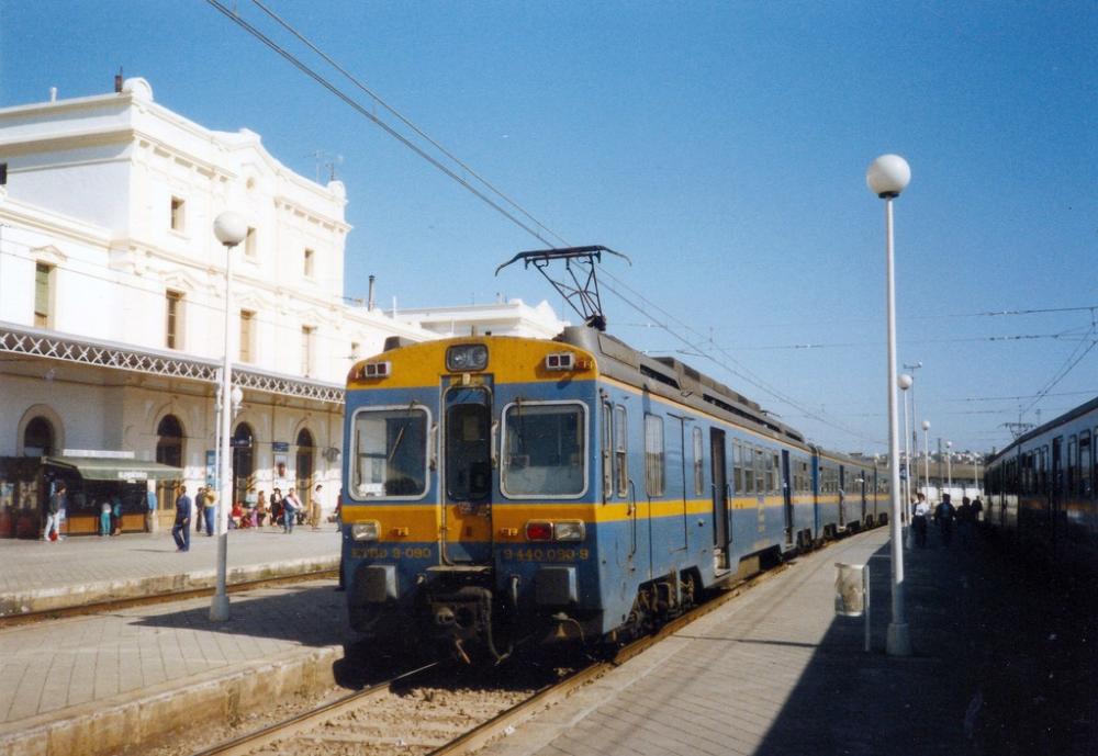 Renfe 440 090 Vilanova I La Geltru Trainspo Train Vilanova I La Geltru Spain